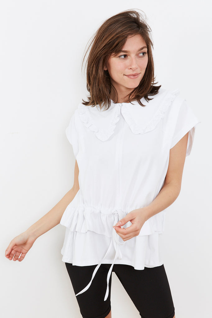 Summer 2020- Lucca shirt  - White