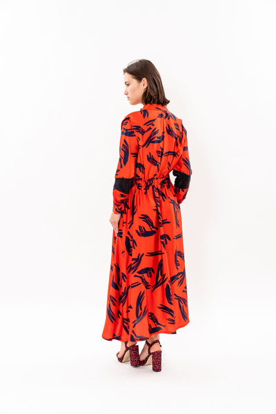 Winter 19 - Lucca Dress - Red