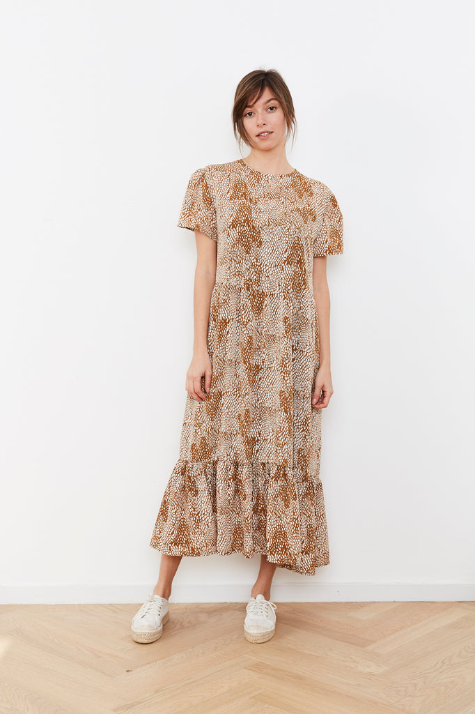 Summer 2020 - Meghan - Brown print