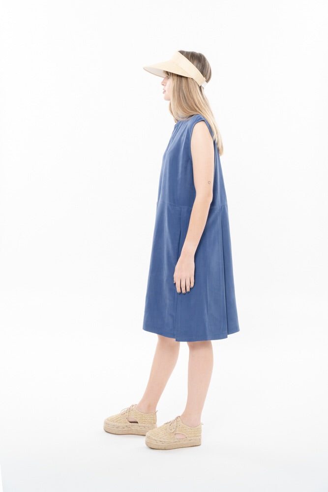 SUZAN DRESS - BLUE
