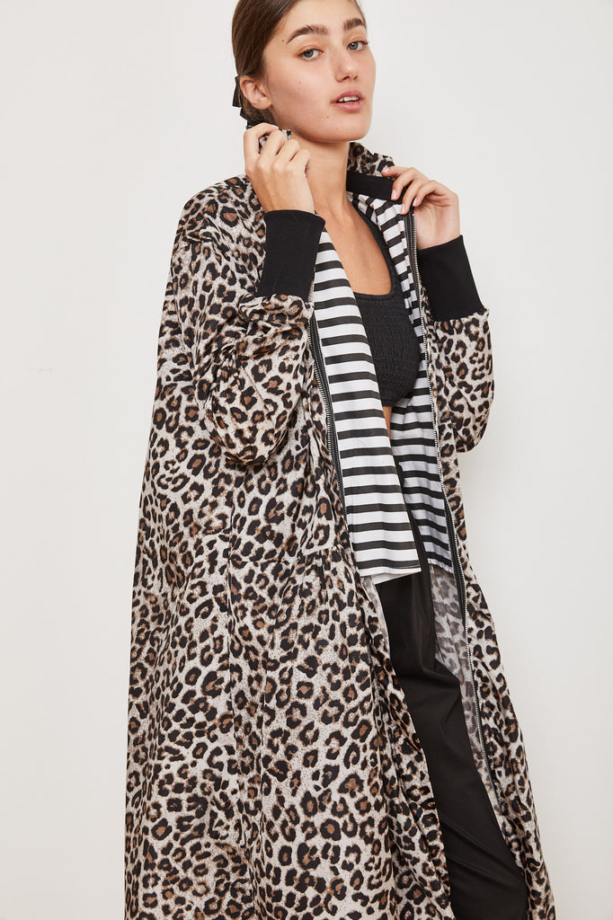 Winter 2021- Trench Coat - Leopard