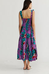 🌞 Summer 2021 - Heidi dress - Spirolina Purple