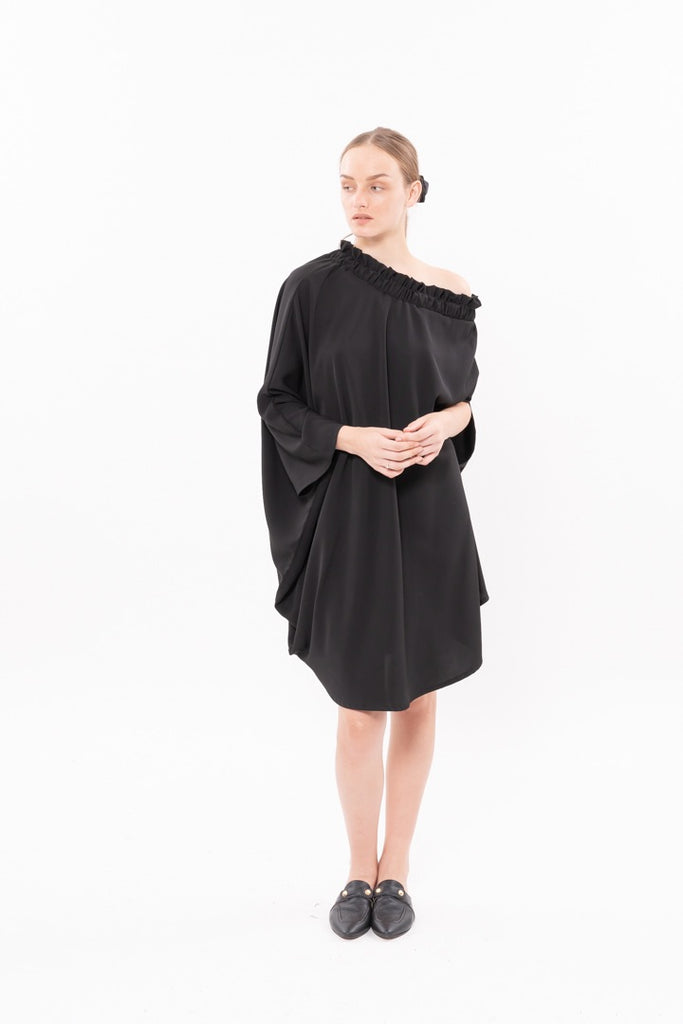 Winter 20- Cheers Dress - Black