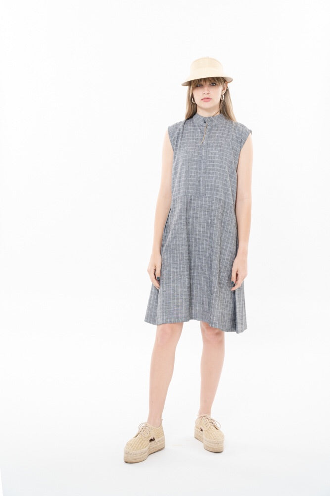 SUZAN DRESS - GRAY