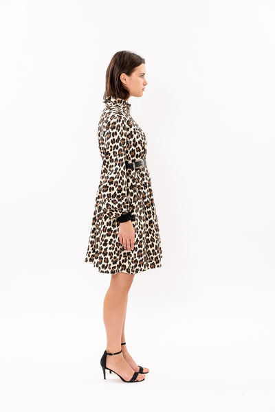 Buba Dress - Leopard print