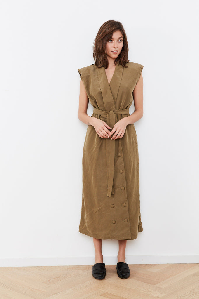 Summer 2020 - Blazer dress - Olive