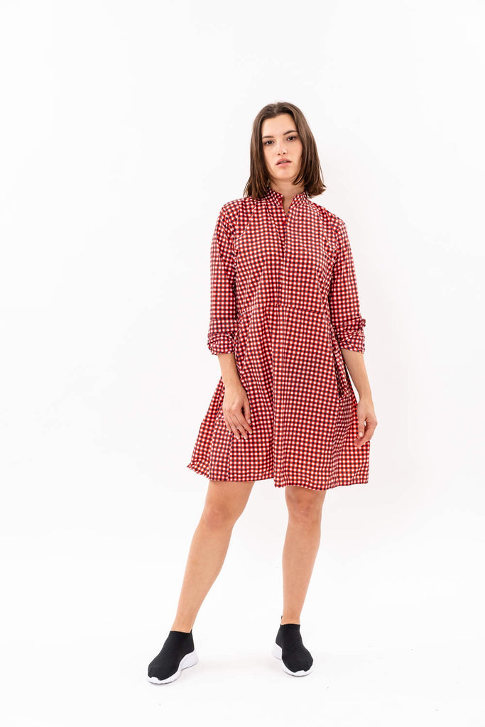 Suzan Dress - Nylon dress