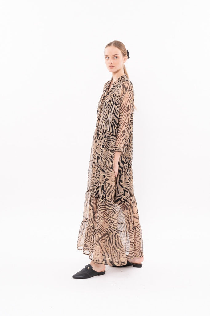 Winter 20 - Martha Dress - Zebra print
