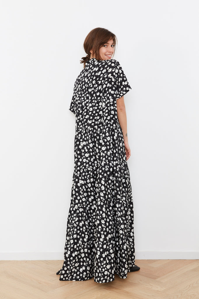 Summer 2020 - MARTHA maxi dress in black and white print