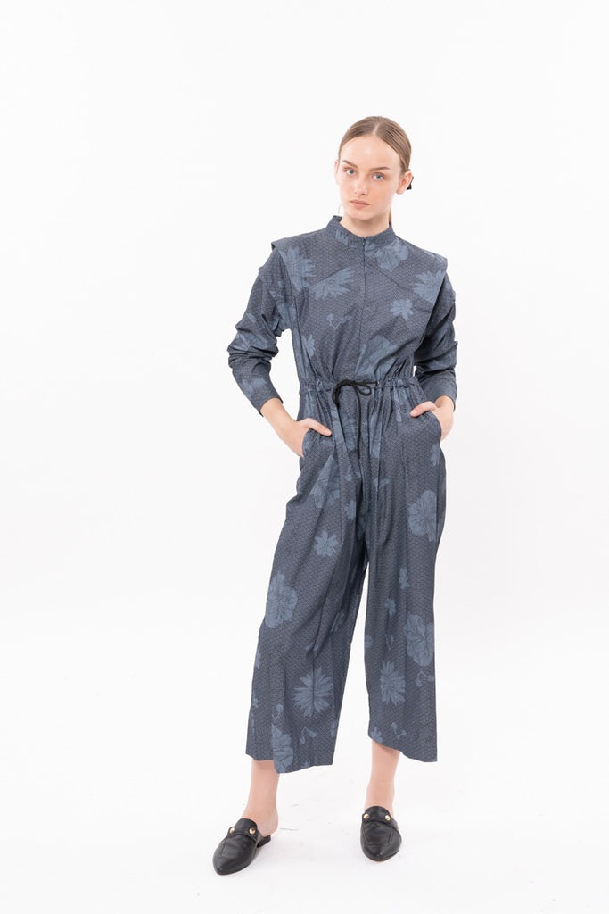 Winter 20 - George Maxi Jumpsuit - Japanese print