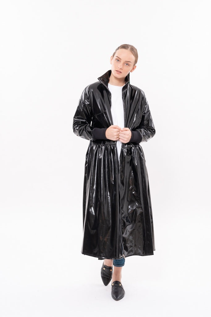Winter 20 - Parsa Trench Coat - Vinyl