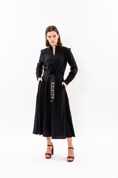 Winter 19 - Lucca Dress - Black