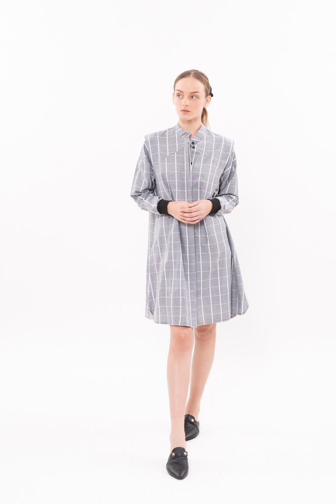 Winter 20 - SPACE DRESS - Gray