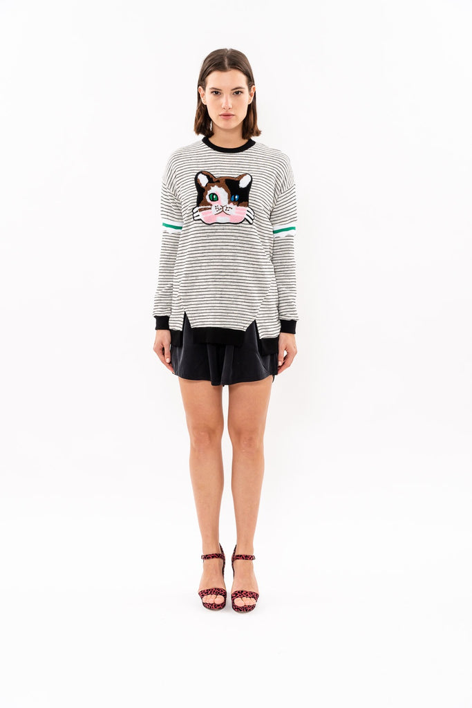 Winter 19 - Kiki Sweatshirt - stripped