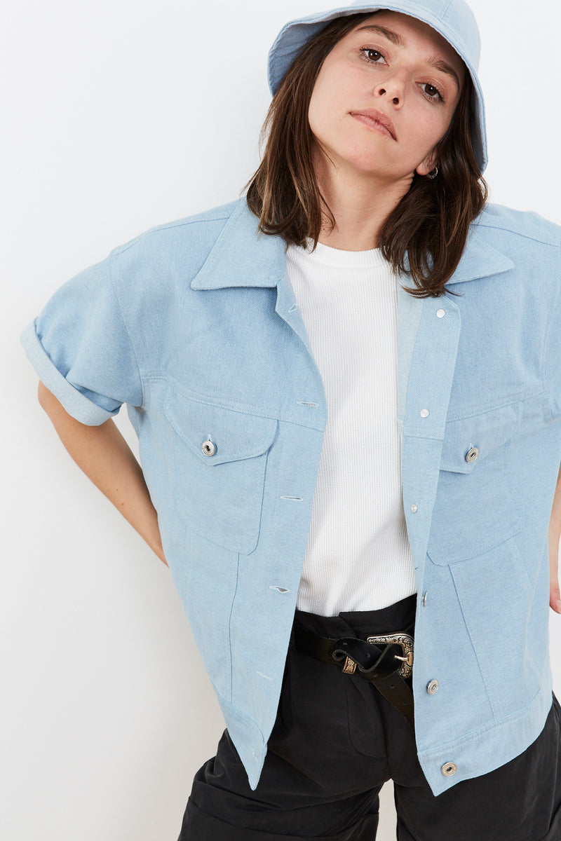 Summer 2020 - Denim jacket - Light denim