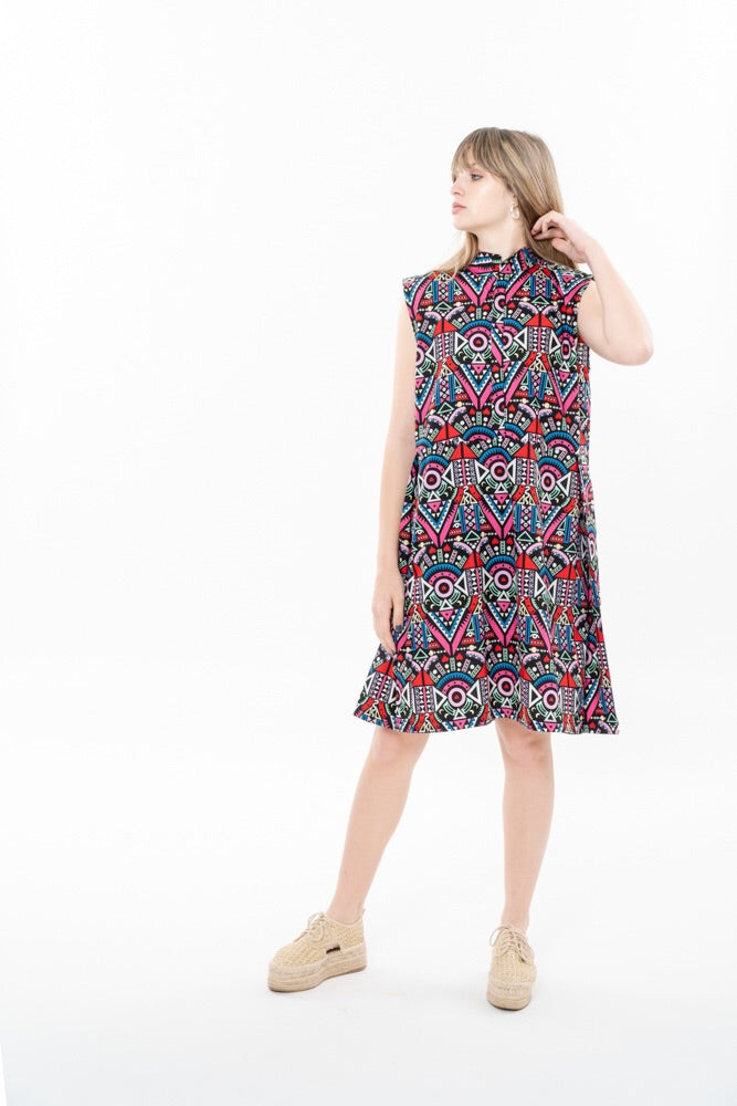 SUZAN DRESS - HAPPY ETHNIC