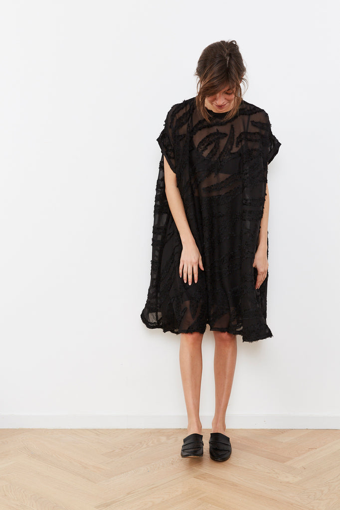 Summer 2020 - Solar eclipse dress 🌖 - black chiffon