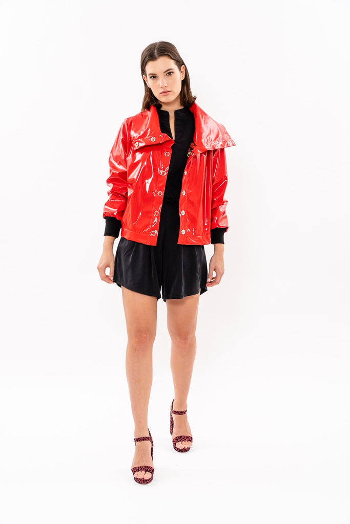 Winter 19 - 80' Vinyl jacket - Red