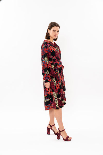 Winter 19 - Nurse Dress - Mix print