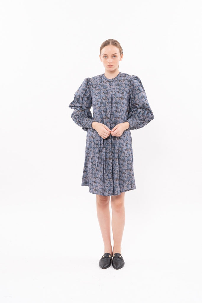 Winter 20 - Diver Dress - Floral denim