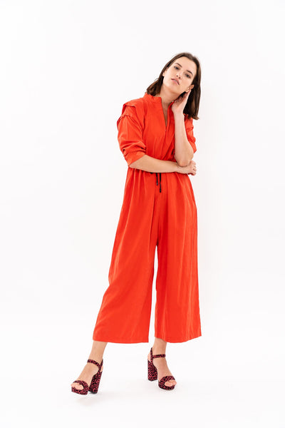 Winter 19 -  George Maxi Jumpsuit - Red