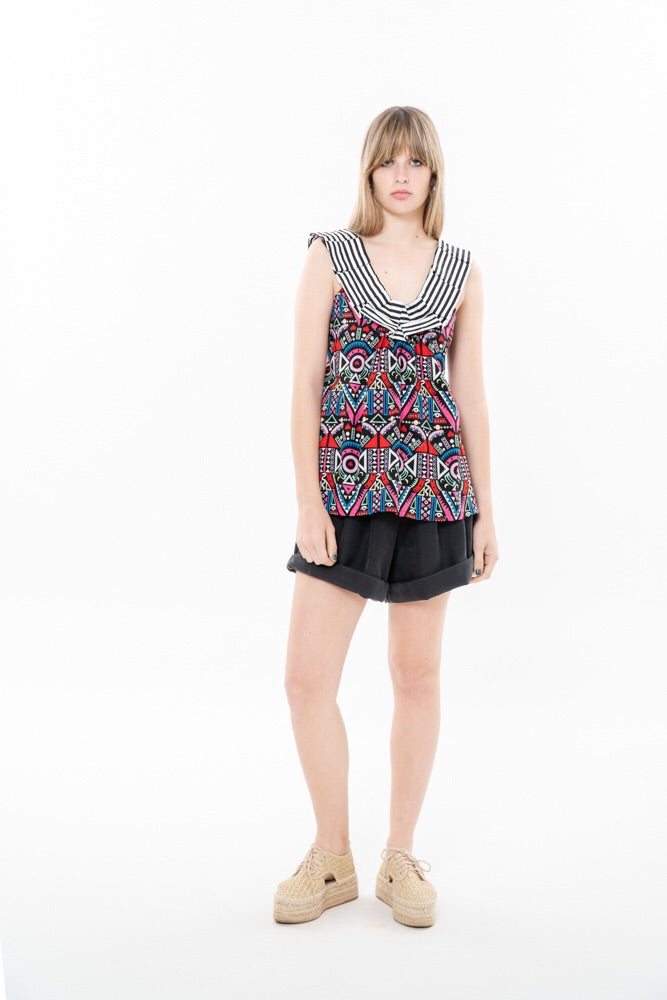 HELENA VEST - HAPPY ETHNIC