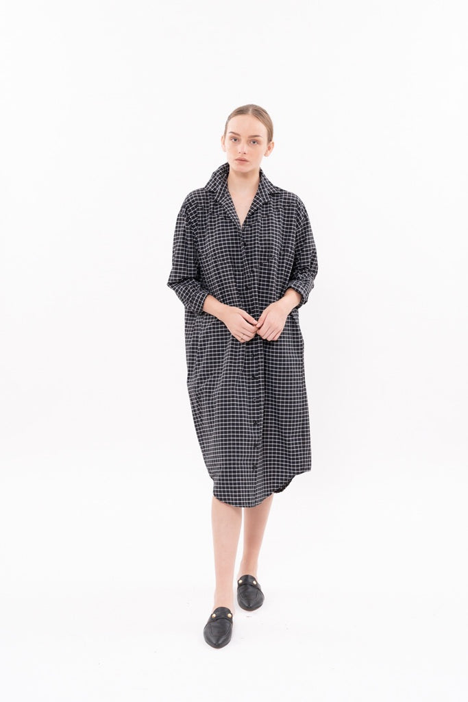 Winter 20 - DIM SUM DRESS - Black