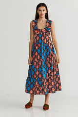 🌞 Summer 2021 - Heidi dress - African Orange