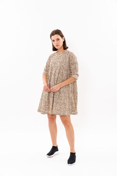 Winter 19 - Hanalle Dress - Leopard print