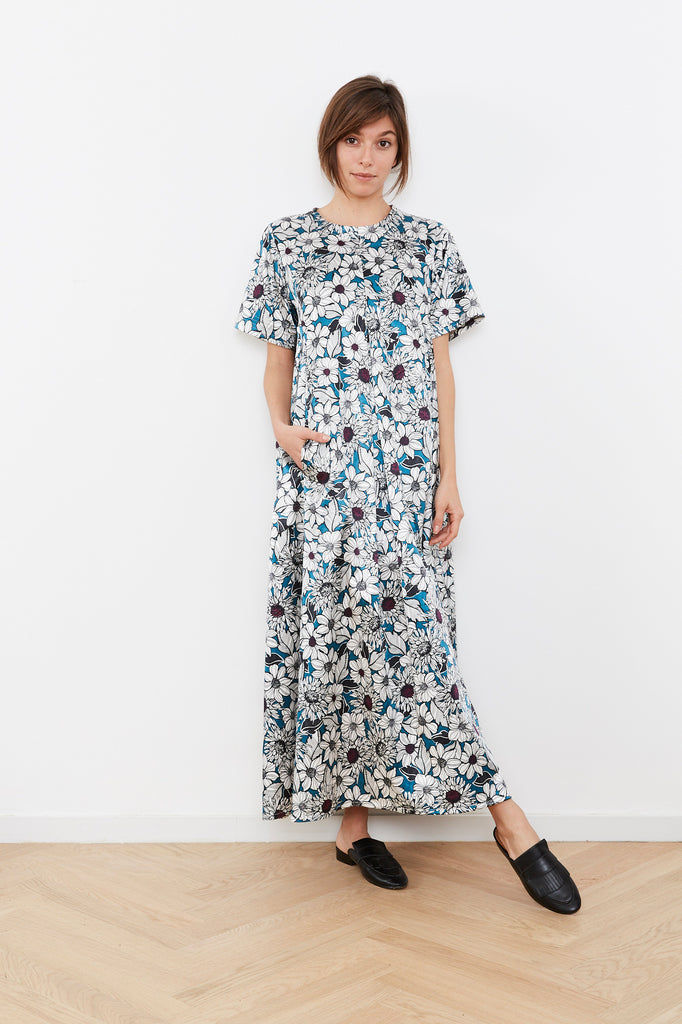 Summer 2020- Maxi T dress - Flowers