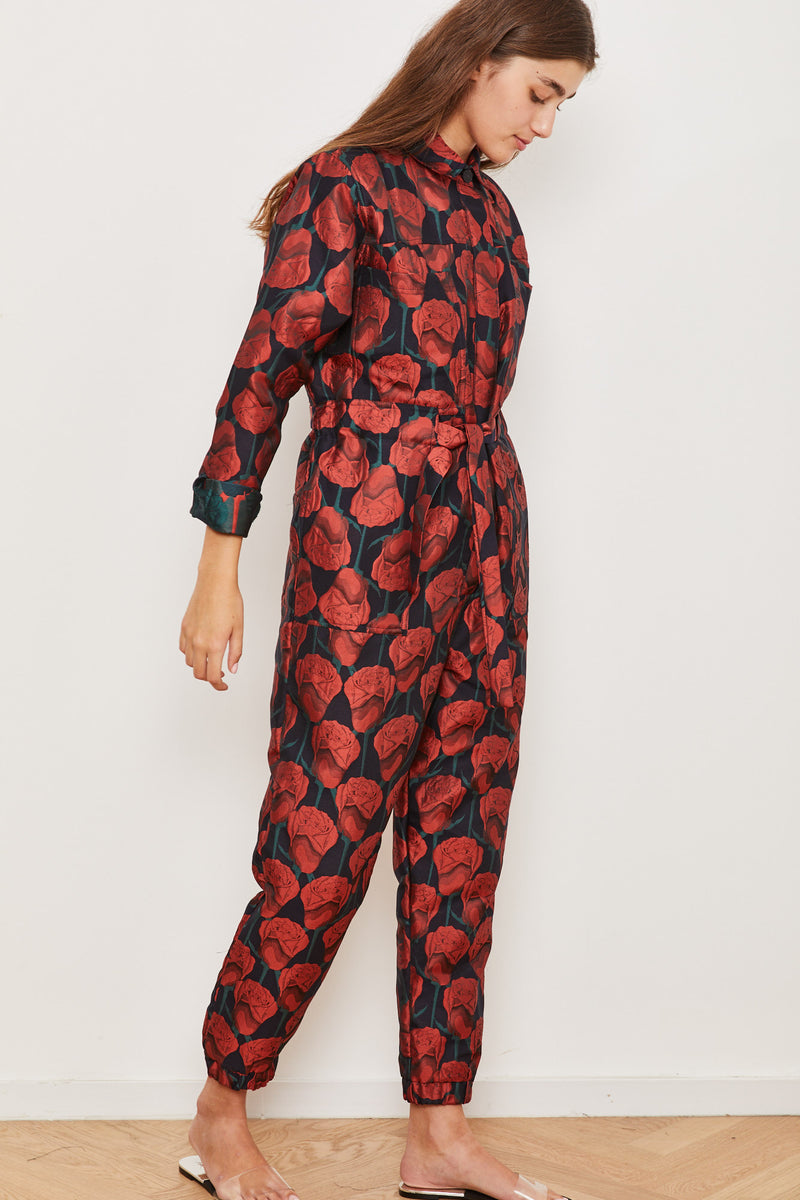 Outlet- Winter 2021 - Ada Maxi Jumpsuit - Roses 🌹