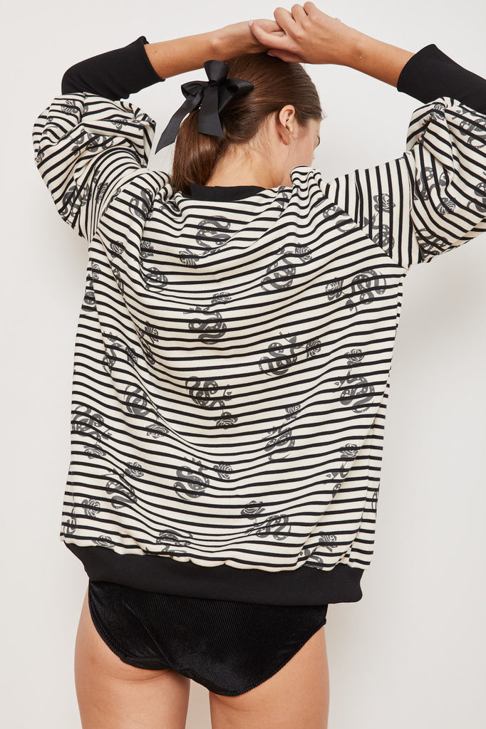 Winter 2021 - The Lot Sweatshirt - Striped