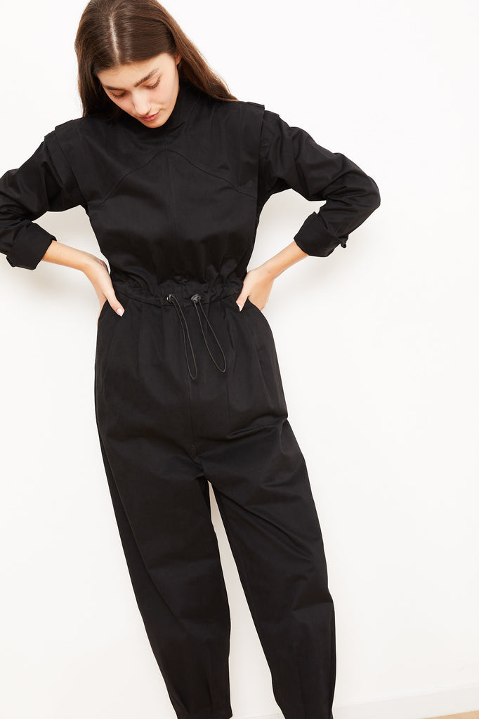 Winter 2021 - Cain Maxi Jumpsuit - Black