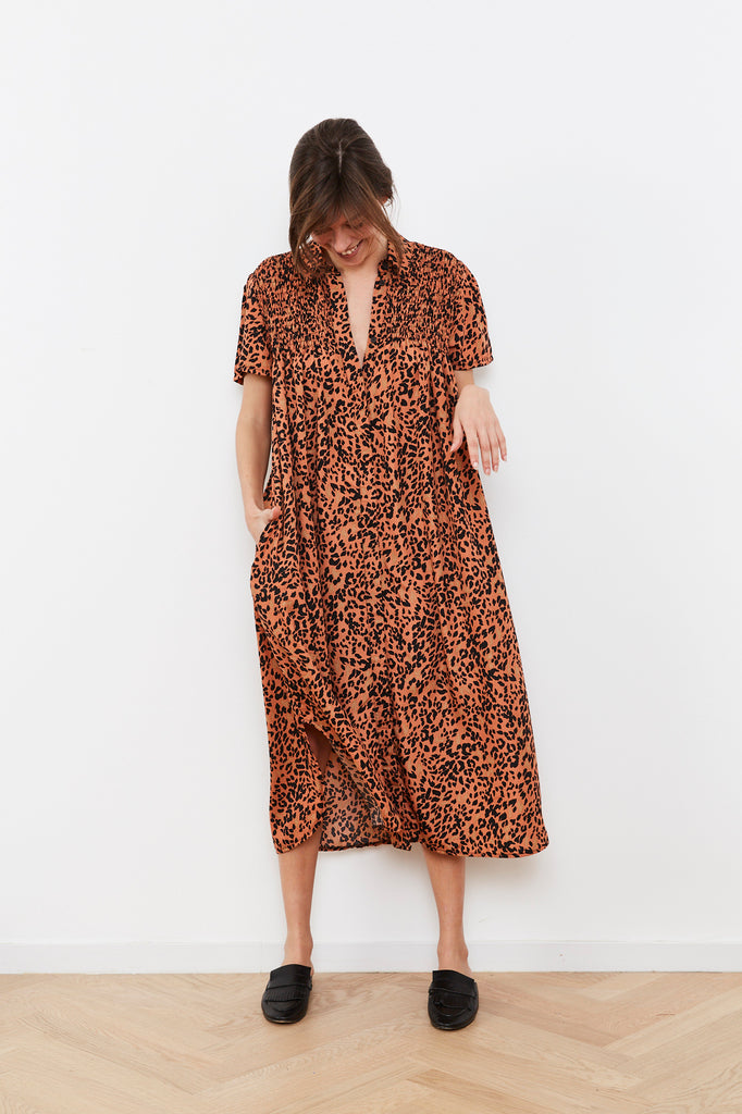 Summer 2020 - Tzifka dress - Leopard