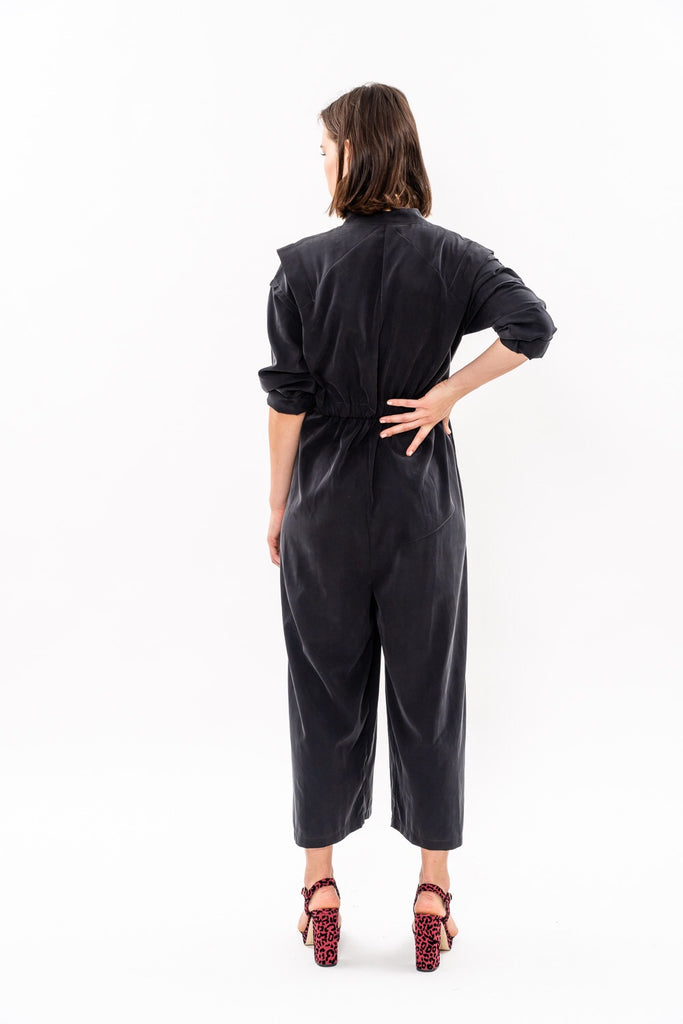 Winter 19 - George Maxi Jumpsuit - Black  was 342$ now 213$