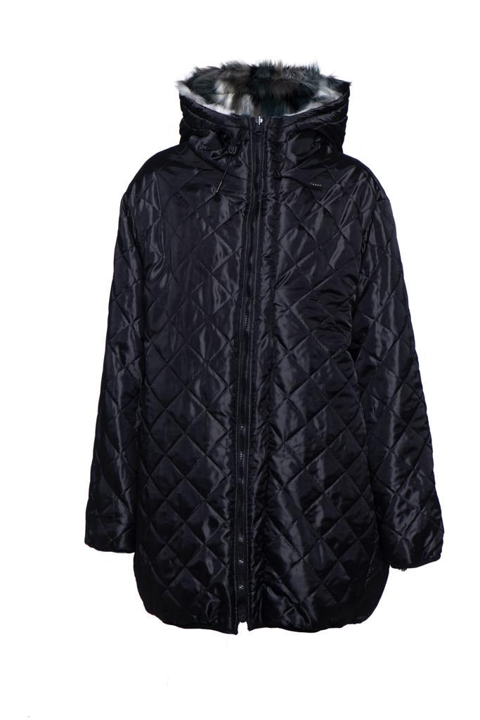 Winter 2021 - Coat - double sided Longline Puffer coat - Moscow