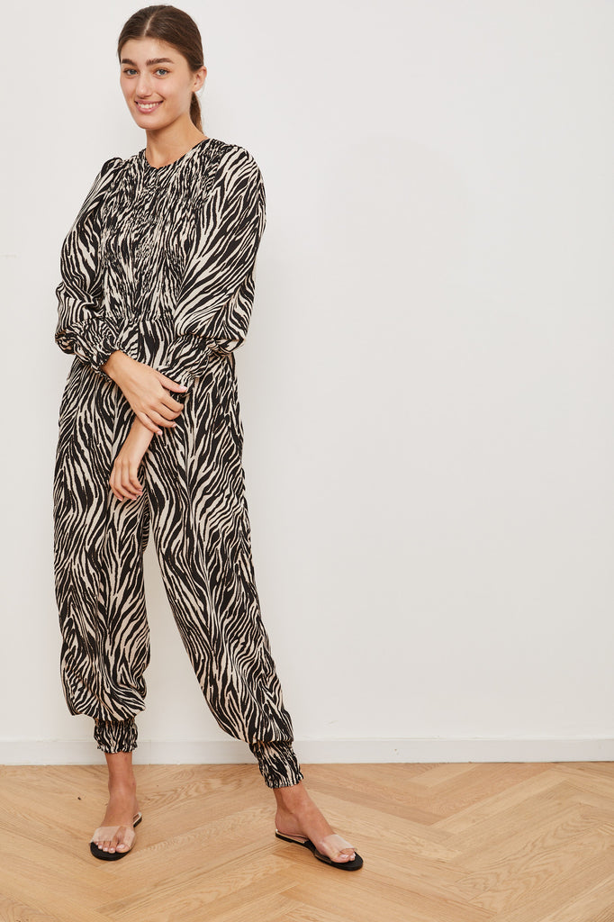 Winter 2021 - Yefet Jumpsuit - Zebra