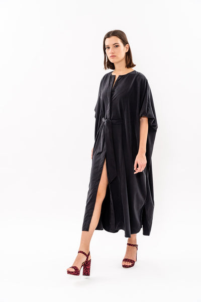 Winter 19 - Maxi Japanese Dress - Black
