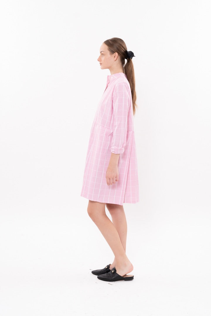 Outlet- Winter 20 - Suzan Dress - Pink