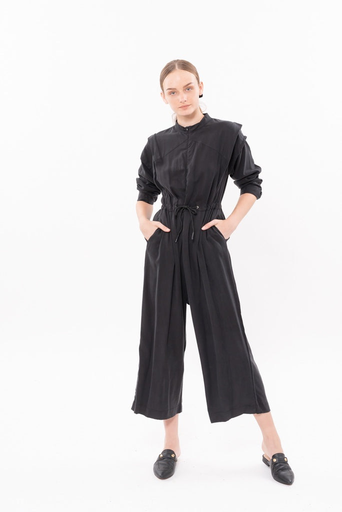 Winter 20 - George Maxi Jumpsuit - Black