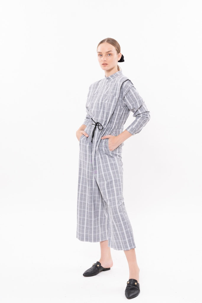Winter 20 - George Maxi Jumpsuit - Gray