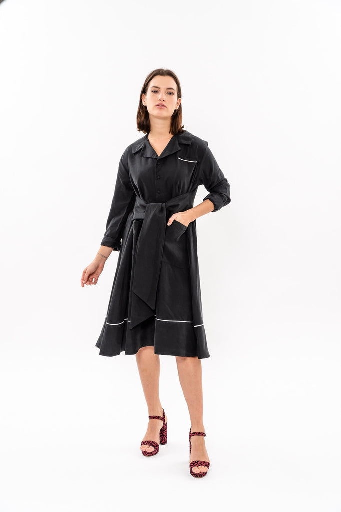 Winter 19 - Nurse Dress - Black