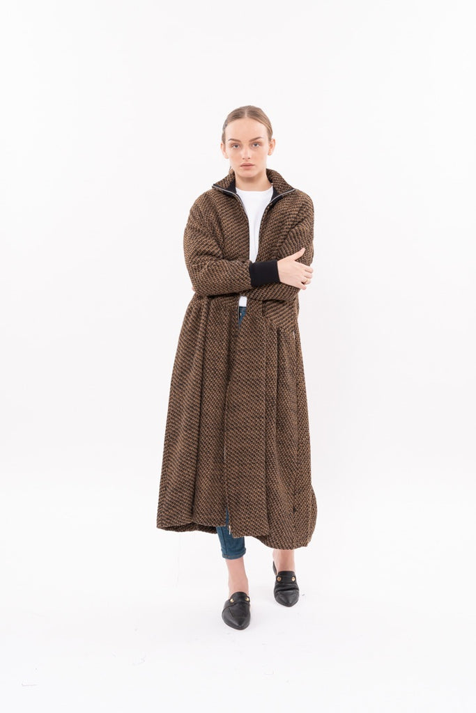 Winter 20 - Parsa Trench Coat - Brown