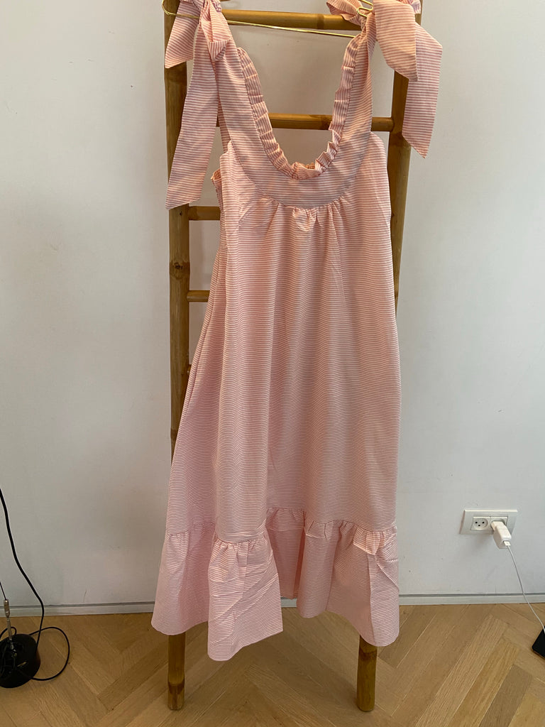 Summer 2020 - Troy dress - Pink Striped