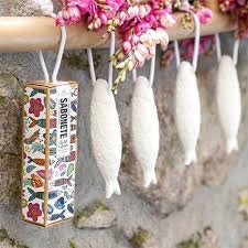 Sardine soap on a rope  by Catelbel