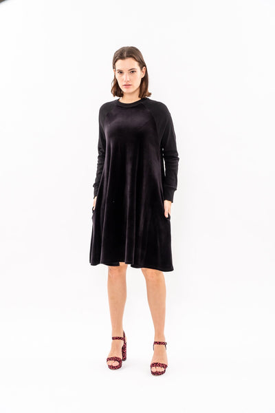 Swing Dress - Black