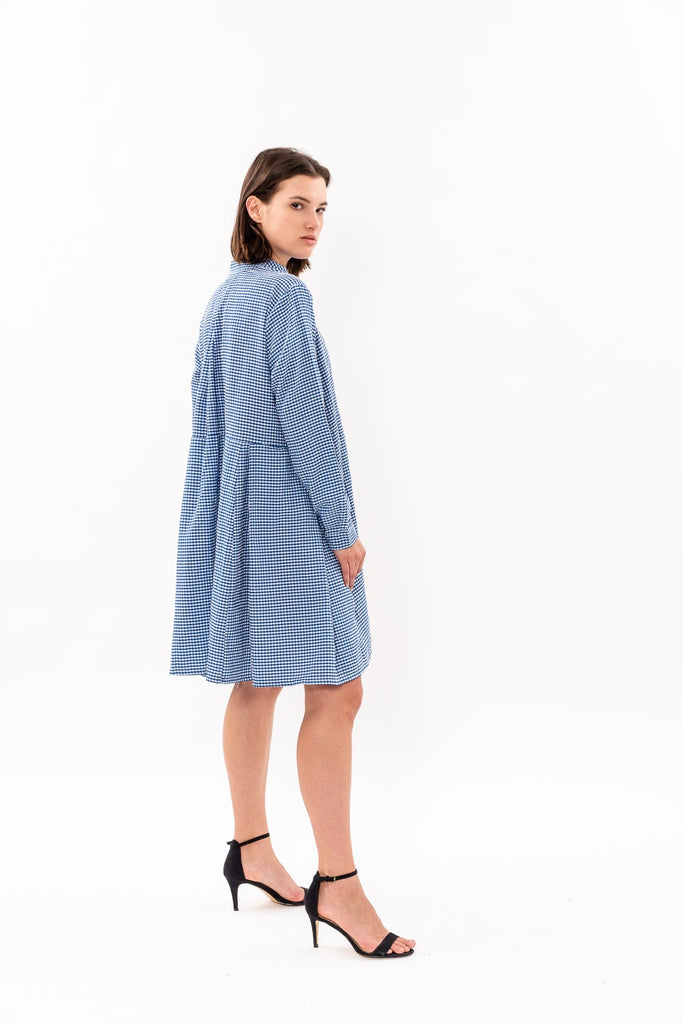 Suzan Dress - Blue and White was 262$ now 164$