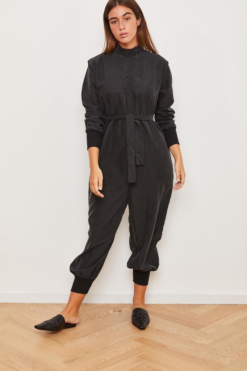 Outlet- Winter 2021 -  Lucy Maxi Jumpsuit - Black