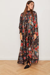 Winter 2021 - Long sleeves Silky dress -  Gypsy