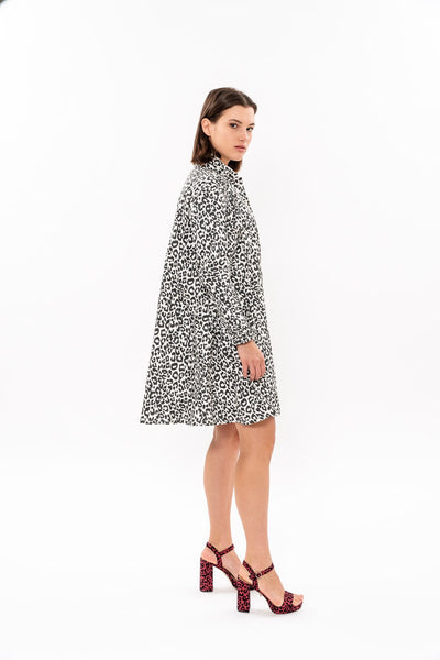 Leopard print Bee dress